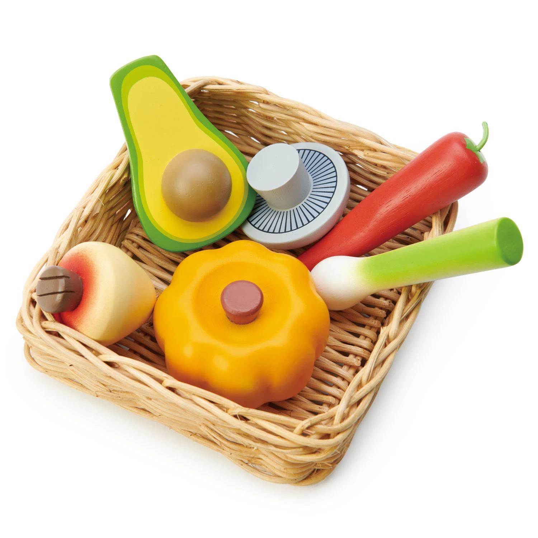 Alimentos de juguete Tender Leaf Toys Veggie Basket