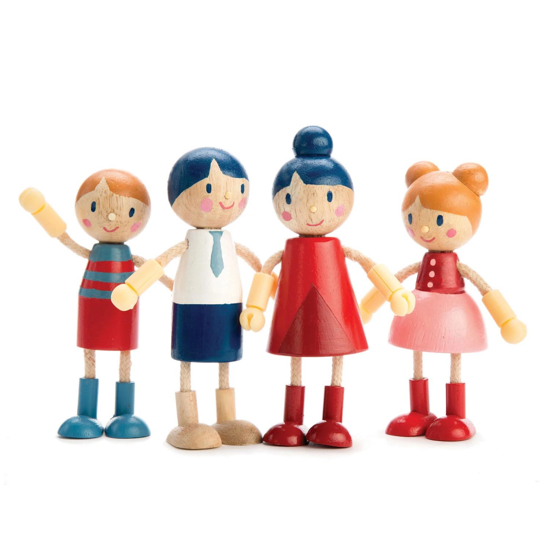Famiglia di bambole