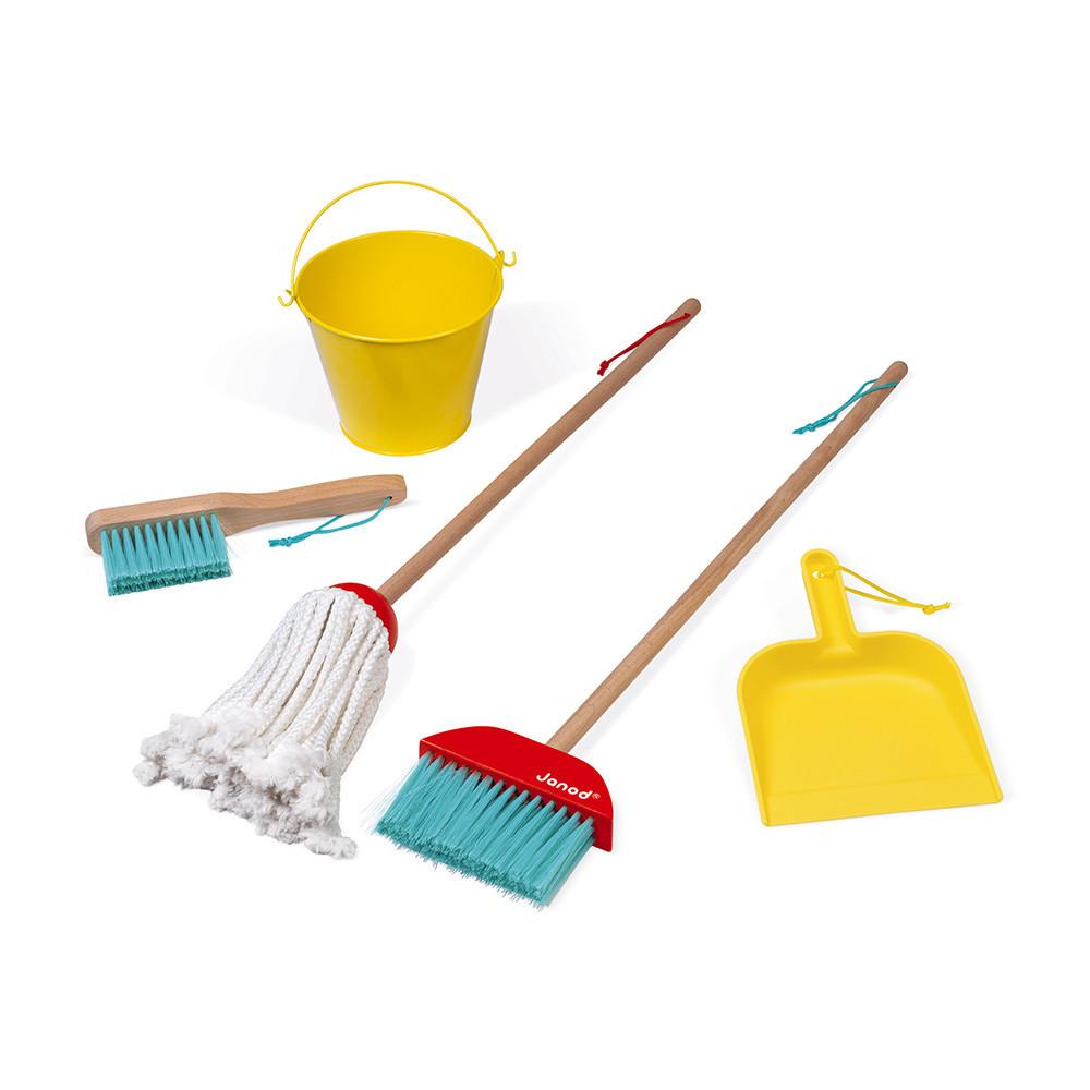 Janod - Juego de limpieza para el hogar