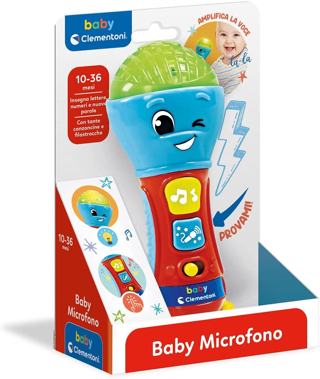 Baby Microfono Clementoni