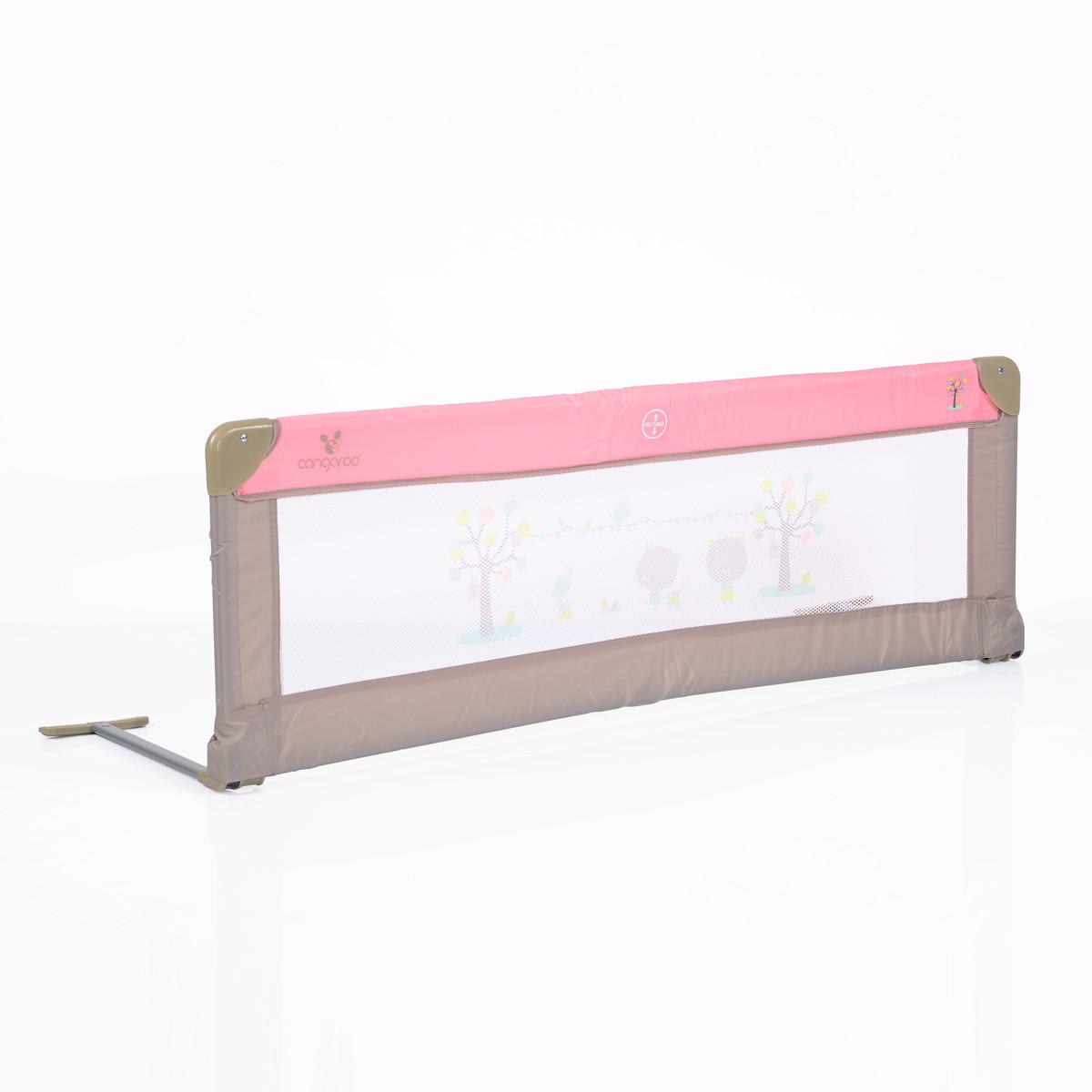 Barandillas para camas Cangaroo Relax Pink