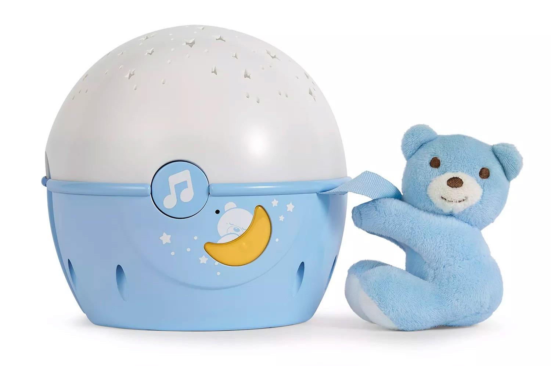 Proyector de cuna Next 2 Star Chicco Azul