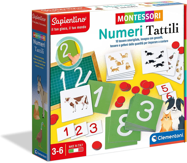 Clementoni - Numeri Tattili