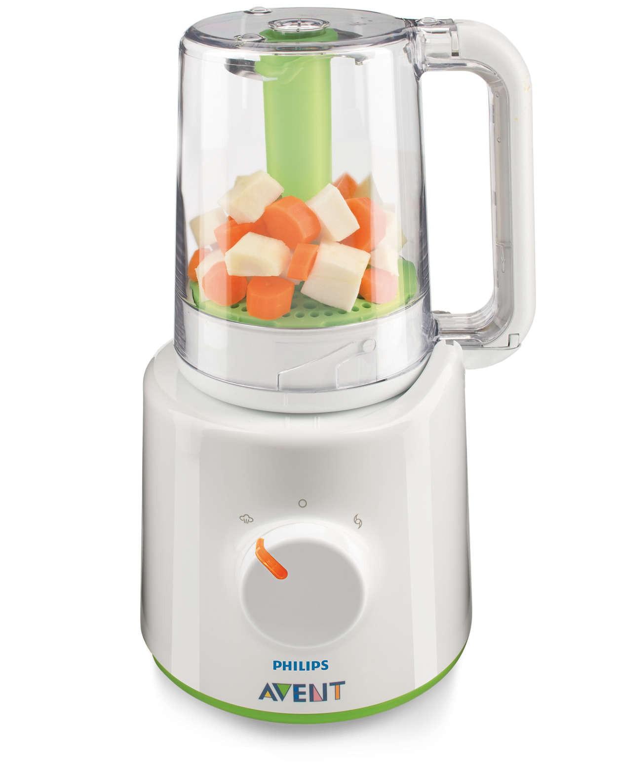 Robot de cuisine Avent Easy Pappa 2 en 1