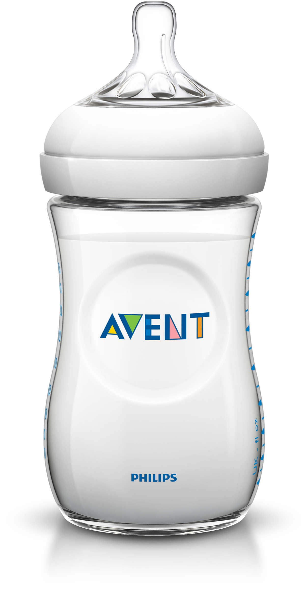 Avent Natural Babyflasche 260 ml Weiß