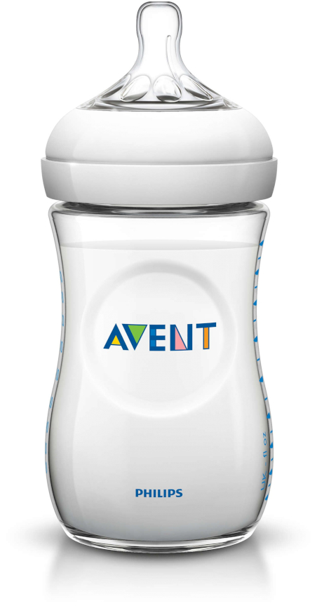 Avent Biberón 260 ml Blanco