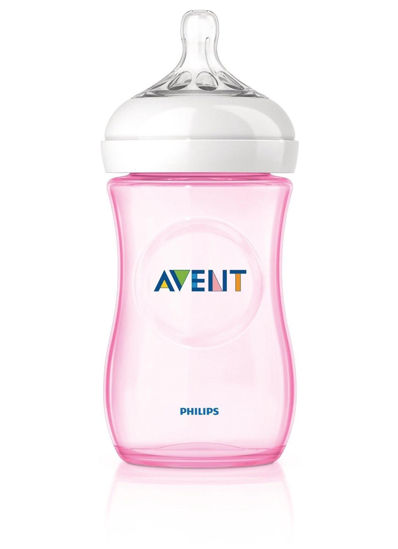 Avent Natural Babyflasche 260 ml Rosa