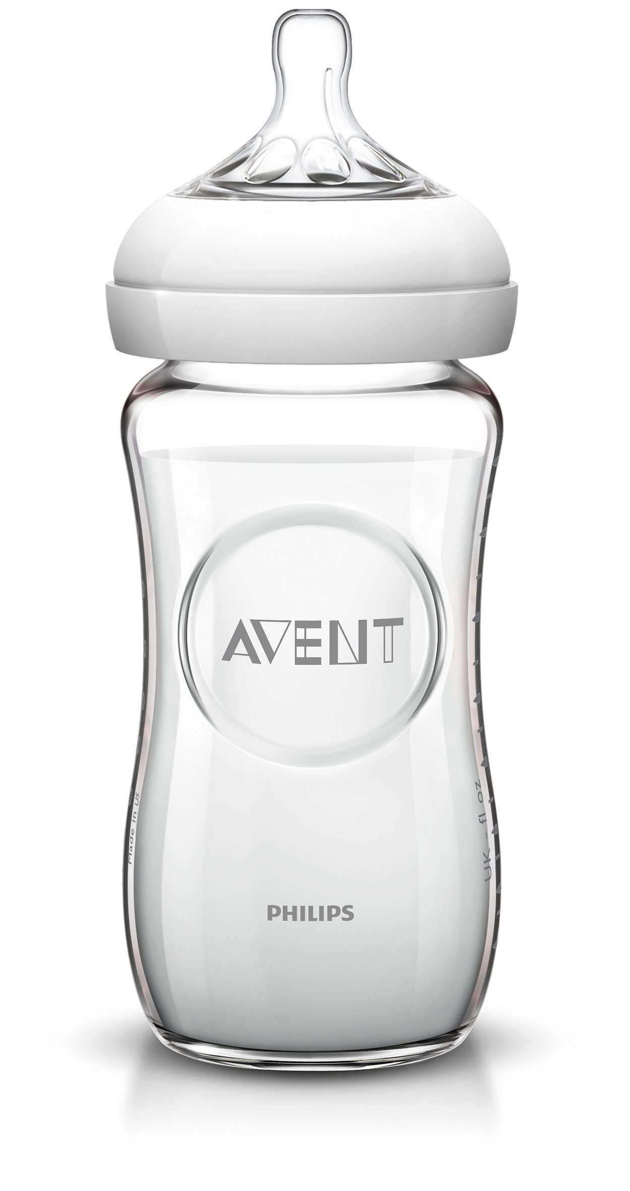 Biberon in Vetro Avent 240 ml