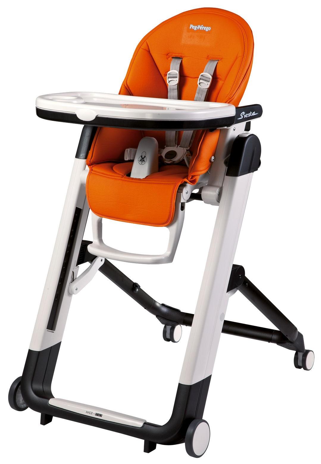 Peg Perego Chaise Haute Siesta Follow Me Orange